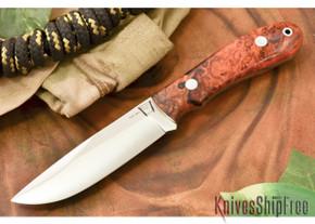 Hyken Knives: Lite Hunter CPM-154 - Desert Ironwood Burl #1