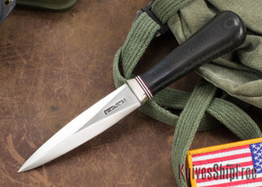 Randall Made Knives: Model 24 Guardian - Black Micarta - Stainless Steel