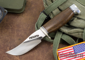Randall Made Knives: Model 22 Outdoorsman - Green Micarta - Stainless Steel