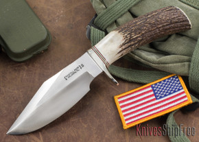 Randall Made Knives: Model 19-5 Bushmaster - Stag - Stainless Steel #2