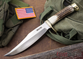 Randall Made Knives: Model 12-8 Bear Bowie - Stag