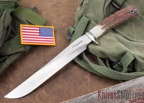 Randall Made Knives: Model 6-9 Filet Knife - Stag - Stainless Steel