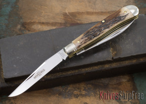 Great Eastern Cutlery: #48 Northfield UN-X-LD - Improved Trapper - Sambar Stag #18