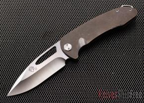 Medford Knife & Tool: On Belay - Bronze Anodized Titanium