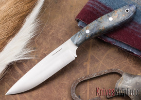 True Saber Knives: Delaware - Blue Maple