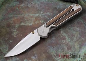 Chris Reeve Knives: Large Sebenza 21 - Macassar Ebony - 052306