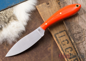 L.T. Wright Knives: Small Northern Hunter - Orange G-10