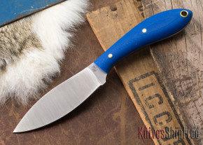 L.T. Wright Knives: Small Northern Hunter - Blue G-10 - Matte