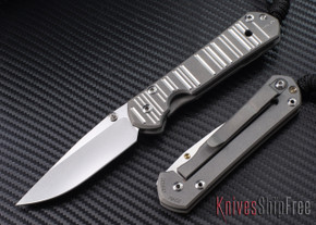 Chris Reeve Knives: Small Sebenza 21 - CGG Think Twice Code