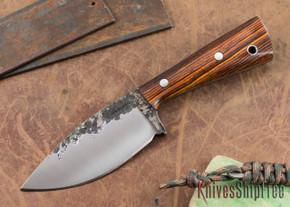 Lon Humphrey Knives: Custom Brute - Cocobolo - Drop Point #1