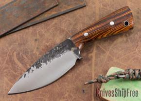 Lon Humphrey Knives: Custom Brute - Cocobolo - Spearpoint #2