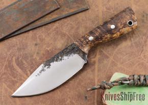 Lon Humphrey Knives: Custom Brute - Curly Koa - Clip Point #7