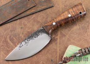 Lon Humphrey Knives: Custom Brute - Curly Koa - Drop Point #5