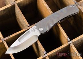 Medford Knife & Tool: Midi Marauder - Flame Titanium - Satin D2 Steel