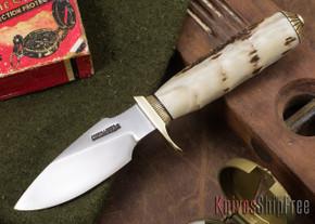 Randall Made Knives: Model 11-4 Alaskan Skinner - Stag - 002