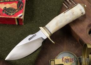 Randall Made Knives: Model 11-4 Alaskan Skinner - Stag - 015