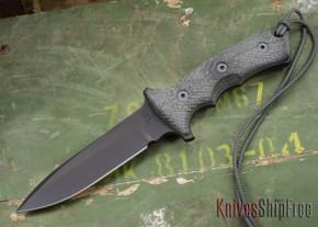 """Chris Reeve Knives: Green Beret - 5.5"""" - Black PVD - Plain Edge"""