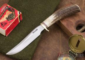 Randall Made Knives: Model 7 - Fisherman/Hunter - Stag - 104