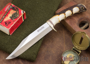 Randall Made Knives: Model 12-6 Sportsman Bowie - Stag - 105