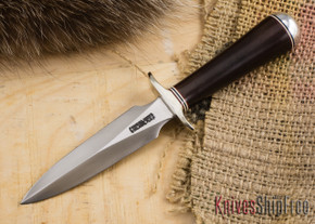 Randall Made Knives: Model 2-4 Letter Opener - Maroon Micarta - 207