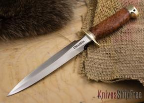 Randall Made Knives: Model 2 Fighting Stiletto - Thuya Burl - 212