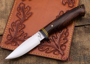 Cross Knives: Forged Hunter Knife - Cocobolo