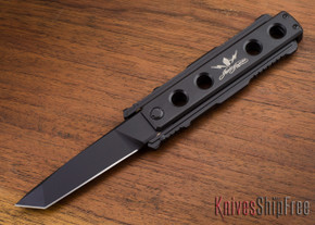 Jesse James Knife Company: Nomad - Titanium - Black - Tanto