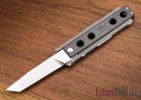 Jesse James Knife Company: Nomad - Carbon Fiber - Stonewashed - Tanto