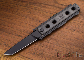 Jesse James Knife Company: Nomad - Carbon Fiber - Black - Tanto