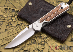 Chris Reeve Knives: Large Sebenza 21 - Thuya Burl - 090106