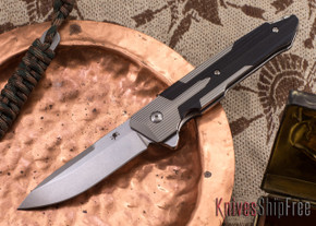 Spartan Blades: Kranos - Titanium - Black G-10