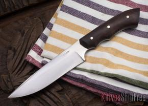 Carter Cutlery: #1124 Muteki Compact FS1 - Ironwood - Black & Phenolic Liners