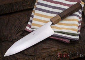 Carter Cutlery: Freestyle Funayuki - Ironwood - Ebony Sapwood Bolster
