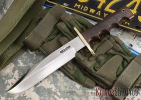 Randall Made Knives: Model 14 Attack Knife - Brown Micarta - 101111