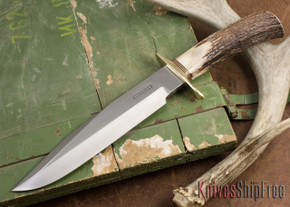 Randall Made Knives: Model 14 Attack Knife - Stag - 101608