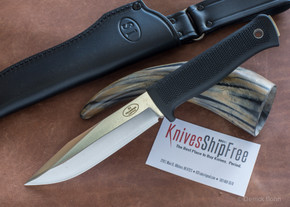 Fallkniven: S1 Forest Knife - Laminated VG10 Steel - Satin Blade - Leather Sheath