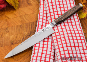 "Shun Knives: Premier Serrated Utility Knife 6.5"" - TDM0722"