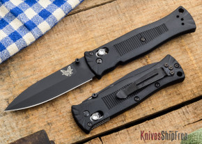 Benchmade Knives: 530BK - Pardue - Axis Lock - Spear Point