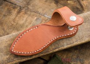 Sharpshooter Sheaths: Sabot Sheath - Left-Hand - Horizontal Leather Carry - Fits Bravo-1