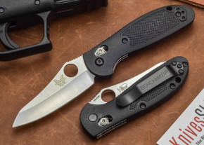 Benchmade Knives: 555HG Mini-Griptilian - Sheepsfoot Blade