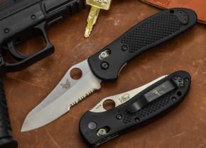 Benchmade Knives: 550SHG Griptilian - Serrated Sheepsfoot Blade