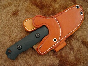 KSF Leather: Bravo Necker Leather Belt/Neck Sheath