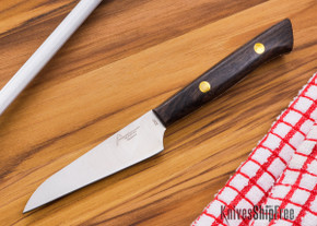 Northwoods Knives: Blackwood XHP - 90 mm (3.5 in) Paring Knife