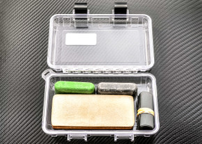 Complete Sharpening Kit for Field or Home w/ S3 Dry Box - Clear