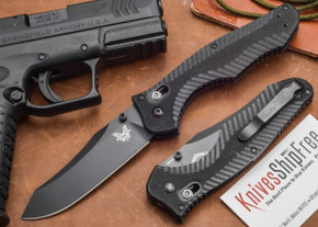 Benchmade Knives: 810BK Contego - Black Blade