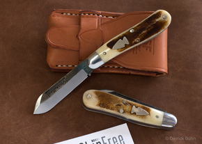 Northwoods Knives: Burnside Jack - Pioneer Bone