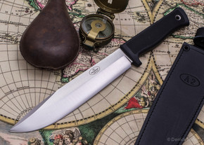 Fallkniven: A2 L - Wilderness Knife - Leather Sheath