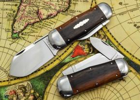 Great Eastern Cutlery: #46 Northfield Un-X-LD - Whaler - Ebony Wood - Unserialized