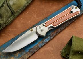 Chris Reeve Knives: Large Sebenza 21 - Amazon Bloodwood Inlay - C