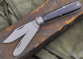 Great Eastern Cutlery: Tidioute - #15 Farmboy's Knife - Gabon Ebony